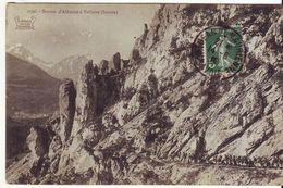 CPA - Sentier D'ALBANNE à VALLOIRE - Ohne Zuordnung