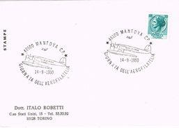 25998. Tarjeta MANTOVA (Italia) 1980. Giornata Dell Aerofilatelia. Avion - 6. 1946-.. Repubblica