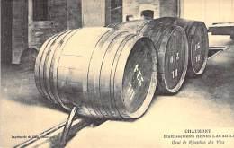INDUSTRIE Usine - 52 - CHAUMONT : Ets Henri LACAILLE Négociant En VINS - Quai De Réception Des Vins - CPA Entreprise - Industrie