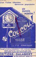 PARTITION MUSIQUE-COUCOU GRAND MERE ET PETITE FILLE -VALSE-PAUL MAX-JONASSON-EDITIONS SALABERT PARIS 1920 - Scores & Partitions