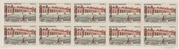 France 1956 N° 1059 NHM Le Grand Trianon Versailles Bloc De Dix  (E16) - Nuovi
