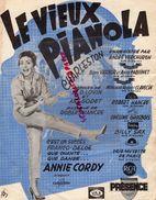 PARTITION MUSIQUE-LE VIEUX PIANOLA-CHARLESTON DANSE- ANDRE VERCHUREN-LOVIN-ANY GODET-ROBERT HANCRE-ANNIE CORDY-PARIS - Scores & Partitions