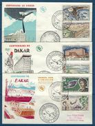 Sénégal FDC 1958 Centenaire De Dakar ( La Série TB ) - Senegal (1960-...)