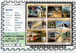 AMERICA:CUBA:#SUBWAY#TRAINS#COMMEMORATIVE# SERIE(S) (CSET 100S-1 (09) - Cuba