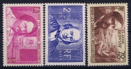France: Yv Nr 437 - 439 Postfrisch/neuf Sans Charniere /MNH/** Part Set 1939 - France