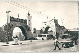 TUNIS   -    TUNISIE   -    Place - El - Khadra.     -  CPsm  Dentelée  - - Tunisie