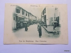 Haiphong-Vue De Haiphong-Rue Chinoise - Vietnam