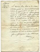 Document Du 18 Avril 1782 Concernant Le Payement De La Tache De Corvés - Cachets Généralité