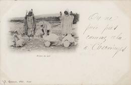 Algerie - La Prière Du Soir J Geiser Alger - Carte Précurseur 1900 - Scènes & Types