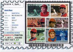 AMERICA:CUBA:#SPORT#COMMEMORATIVE# SERIE(S) (CSET 100S-1 (20) - Cuba