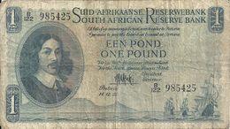 AFRIQUE DU SUD 1 RAND 1951 VG+ P 93 E - Afrique Du Sud