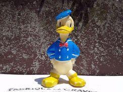 1964 DONALD DUCK VINTAGE SQUEAKY RUBBER TOY 7'' / Disney Productions Yugoslavia - Disney