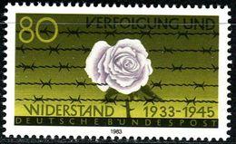 BRD - Mi 1163 - ** Postfrisch (B) - 80Pf  Verfolgung Und Widerstand - Unused Stamps