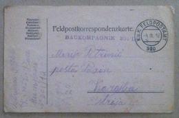 Posta Militare - Feldpostamt 320 - Cartolina Postale Indirizzata Istria - 1916 - Documents