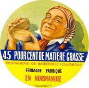 France - Fromage Fabriqué En Normandie - 45 % De Matière Grasse - Fromagerie De Barbeville (Calvados) - Cheese