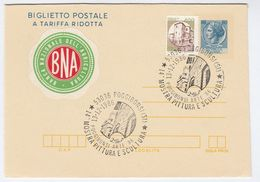 1986 Mostra BANCA NATIONALE DELL AGRICULTURA LABEL On UPRATED Postal STATIONERY LETTERSHEET Italy Stamps Cover Bank - 6. 1946-.. Republic