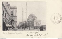 CONSTANTINOPLE /  RUE ET MOSQUEE DE TOPHANEH ////   REF   SEPT 17  ////   N° 4369 - Turquie