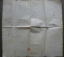 Rilievo Cartografico A Mano Pavullo Nel Frignano Le Torre Fine '800 - Altre Collezioni