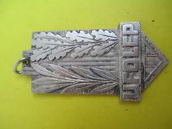 Médaille /UFOLEP/ Ligue Française De L'Enseignement./ Centenaire/Bronze Argenté/1966         SPO220 - Sports