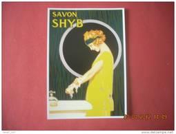 CLOUET  101028   SAVON SHYE - Advertising