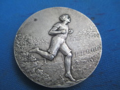 Médaille /Sports/Course à Pieds//Bronze Nickelé/ Vers 1920- 1930        SPO221 - Athlétisme