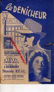 PARTITION MUSIQUE -LE DENICHEUR-TONY MURENA-GIBERT LEON AGEL-DANIDERFF-SIMONE REAL- PARIS - Scores & Partitions
