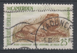 Cameroon, Animal, Lion, 25f., 1962, VFU - Cameroon (1960-...)