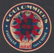 Etiquette De Fromage Coulommiers 40 % -  Fabriqué Dans L'Yonne  (89  ) - Cheese