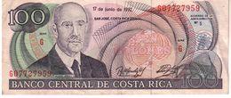 Costa Rica P.258   100 Colones 1992  Xf - Costa Rica