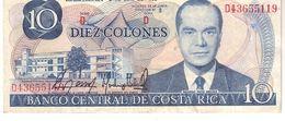 Costa Rica P.237   10 Colones 1987 Au - Costa Rica
