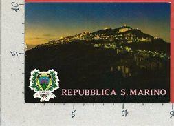 CARTOLINA NV REPUBBLICA DI SAN MARINO - Notturno - 10 X 15 - San Marino