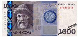 KYRGYZSTAN 1000 SOM 2016 Pick New Unc - Kyrgyzstan