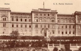 CROATIE - RIJEKA K. K. Marine Akademie - Croatie