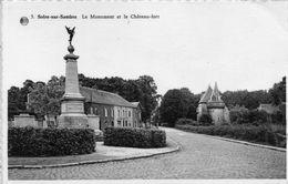 SOLRE SUR SAMBRE - Le Monument Et Le Château Fort - Bélgica