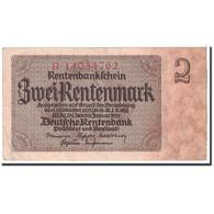 Allemagne, 2 Rentenmark, 1937, KM:174b, 1937-01-30, TTB - [ 3] 1918-1933 : République De Weimar