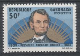 Gabon, Abraham Lincoln, President Of The United States, 1965, MNH VF - Gabon