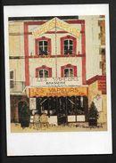Brasserie Les Vapeurs Trouville - D'après Huile Sur Toile De Dominique Chapelle - CP Calvados Normandie - Trouville