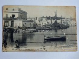 FRANCIA FRANCE Colonie BEZERTE TUNISIA Le Port Boat Old Postcard - Tunisia