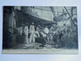 FRANCIA FRANCE NAVE SHIP PRINCESSE ALICE Peche De Cetaces Fishing Boat Pescatori Fisherman Old Postcard - Pesca
