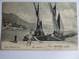 MONACO MONTE CARLO Le Port Old Postcard - Harbor