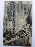 FRANCIA FRANCE Bateau Sardinier Velier Nave Ship Fisherman Old Postcard - Pesca