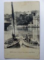 FRANCIA FRANCE CORSE BASTIA Port Caserne Watrin Fisherman Old Postcard - Bastia
