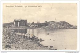 LAGO SCAFFAIOLO  MT 1175 APPENNINO PISTOIESE VIAGGIATA FP 1922 - Pistoia