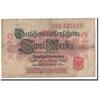 Allemagne, 2 Mark, 1914, KM:53, 1914-08-12, B - Bundeskassenschein
