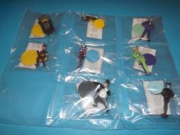 BATMAN Set Completo Figurine,,pupazzi 8 PZ ,,,,,3 - Batman