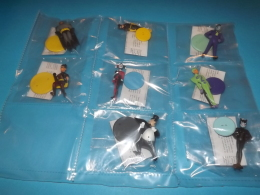 BATMAN Set Completo Figurine,,pupazzi 8 PZ ,,,,,4 - Batman