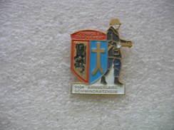 Pin's Du Club De Football Des Sapeurs Pompiers De La Commune De Sainte Marie Aux Mines (Dépt 67) - Bomberos