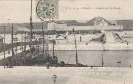 Calais - Le Bassin Du Petit Paradis   - Scan Recto-verso - Calais