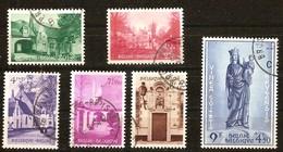 Belgie Belgique 1954 OCBn° 946-951 (°) Oblitéré Used Cote 92,50 Euro Begijnhof Brugge Béguinage Bruges - Used Stamps