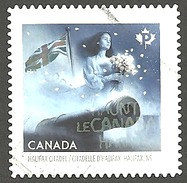 Sc. #2865 Haunted Canada, Halifax Citadel, N.S. Booklet Single Used 2015 K019 - 1952-.... Règne D'Elizabeth II